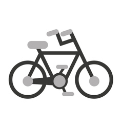 bicycle sport vehicle icon vector image