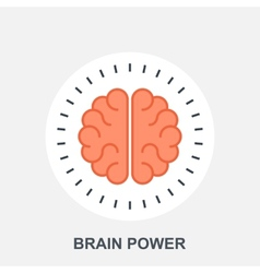 Brain Power vector