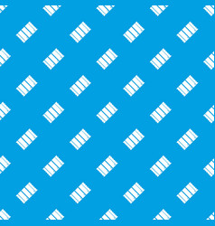 chocolate pattern seamless blue vector image