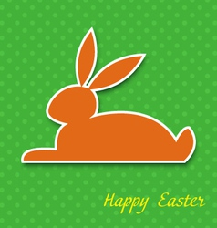 Easter greeting card eps10 vector