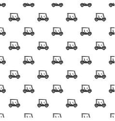 Golf club vehicle pattern vector