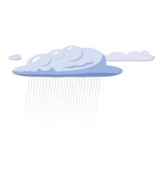 Heavy rain icon cartoon style vector image