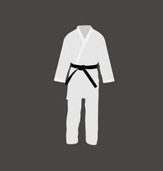 japanese kimono icon vector image
