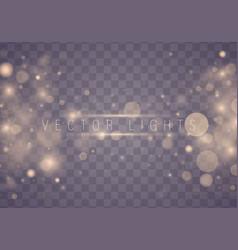 Light abstract bokeh vector
