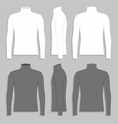 mens sweater vector image