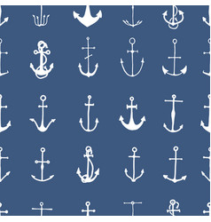 seamless pattern with engraved hand drawn vector image