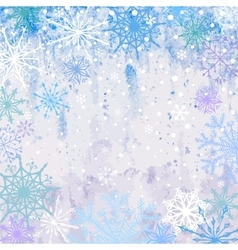 Snowy Winter Background vector