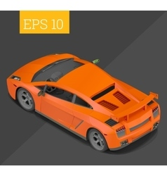 sport car isometric vector image