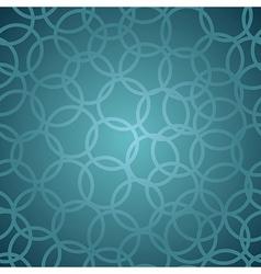 Stylish circle pattern vector image vector image