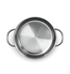 Pan top view object vector image