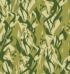 Military texture in form of fire camouflage army vector