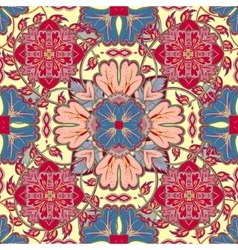 Bright pattern East ornament with vector