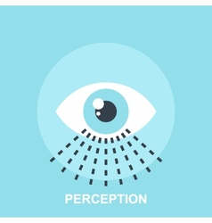 Perception vector image