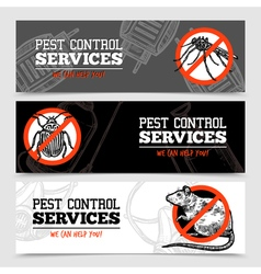 Pest control insect vector