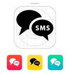 Phone dialogue icon vector