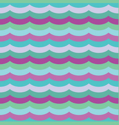 purple cool waves seamless pattern vector image
