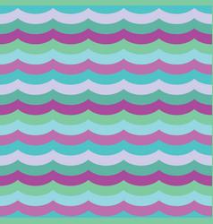 Purple cool waves seamless pattern vector