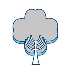 Tree eco symbol vector
