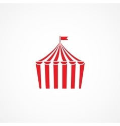 Circus icon vector image vector image