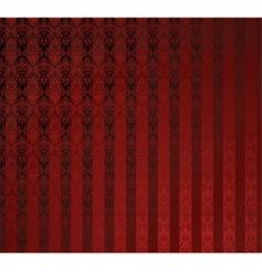 red stripe wallpaper vector image