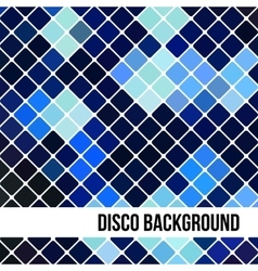 Abstract Background of Blue Rombus vector image