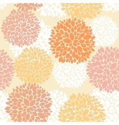 Cute unique floral autumn pattern vector
