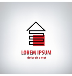 House logo for company isolated identity vector