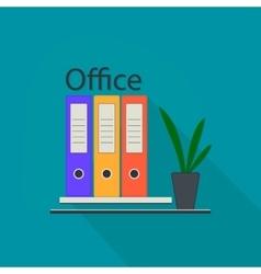 Office equipment logo vector