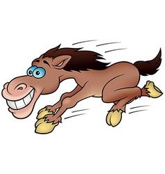 Running Horse vector