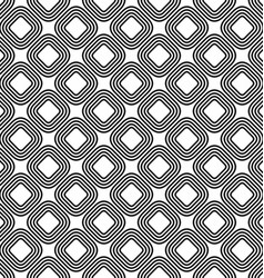 Seamless diagonal rounded square pattern vector