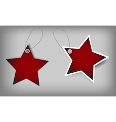 Set of Christmas Sale Tags vector image