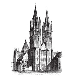 St etienne used for football vintage engraving vector