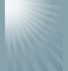 sun rays cold winter white blue gradien abstract vector image