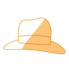 women sun hat vector image