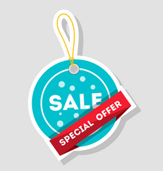 special offer isolated sale sticker vector image vector image