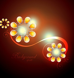 beautiful artwork vector image