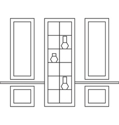 Decorative frames for Interior Design vector image vector image