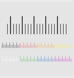 Color gradient metric vector