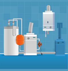 concept bathroom interior vector image