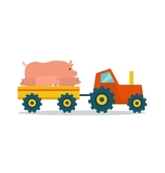 Domestic Animals Carriage vector image