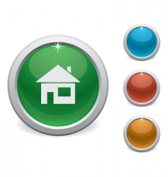 home button vector image vector image