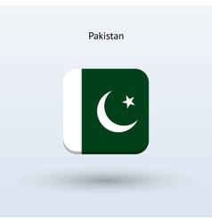 Pakistan flag icon vector image