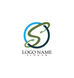 s logo symbols template icons vector image