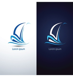 Sailboat 5 vector