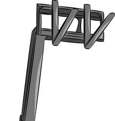 telehandler vector image
