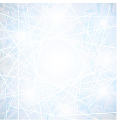 white abstract polygonal space low poly background vector image