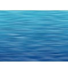 Blue water surface background vector