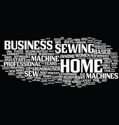 The latest home business trend is years old text vector