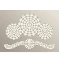 scottish plaid concept vector image vector image