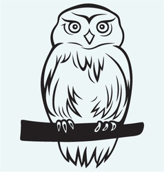 Eagle Owl vector image